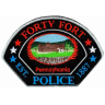 Forty Fort Police Department Badge